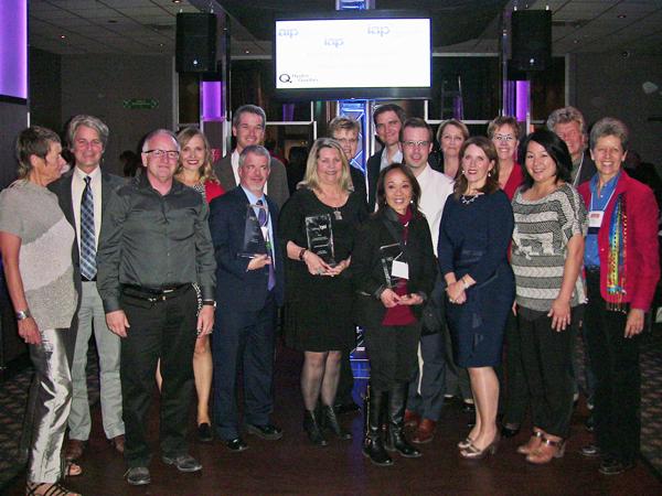 IAP2 Canada - 2016 IAP2 Canada Core Values Award winners